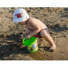 Bộ đồ chơi xúc cát đi biển cho bé Benesse hình Gấu xuất Nhật