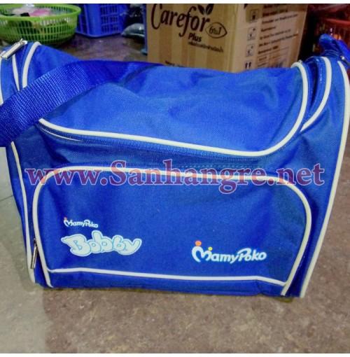 Túi mẹ và bé MonyPoko xanh