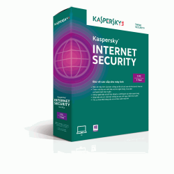 Phần mềm diệt virus Kaspersky Internet Security 2015 1PC 1 năm