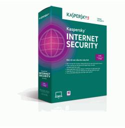 Phần mềm diệt virus Kaspersky Internet Security 2017 1PC 1 năm