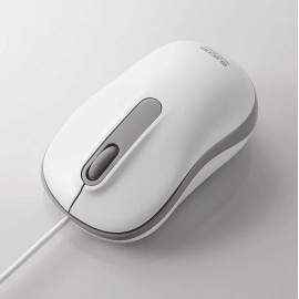Chuột quang có dây Elecom M-Y7URWH cổng USB - Trắng