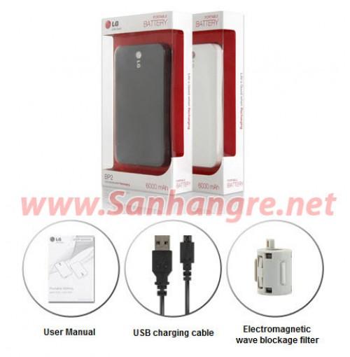 Pin dự phòng LG 6000mAh
