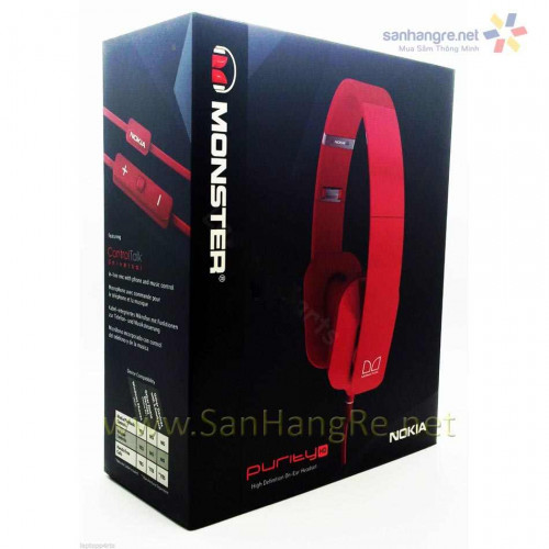 Tai nghe Nokia Monster Purity HD WH-930 (Hồng)