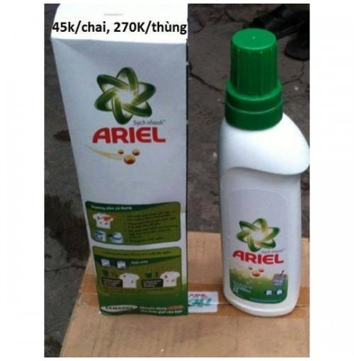 Nước giặt Ariel 900ml, một thùng 6 chai
