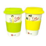 Bộ 2 cốc sứ cao cấp Hàn Quốc Con tuyệt nhất 300ml