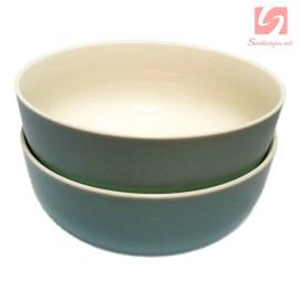 Bộ 2 tô canh sứ Pastel Hàn Quốc - Xanh biển