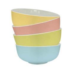 Bộ 4 tô canh sứ Pastel Hàn Quốc