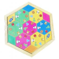 Bộ xếp hình lục giác Enfa
