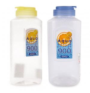 Bộ 2 bình nhựa đựng nước Aqua Komax Hàn Quốc 900ml