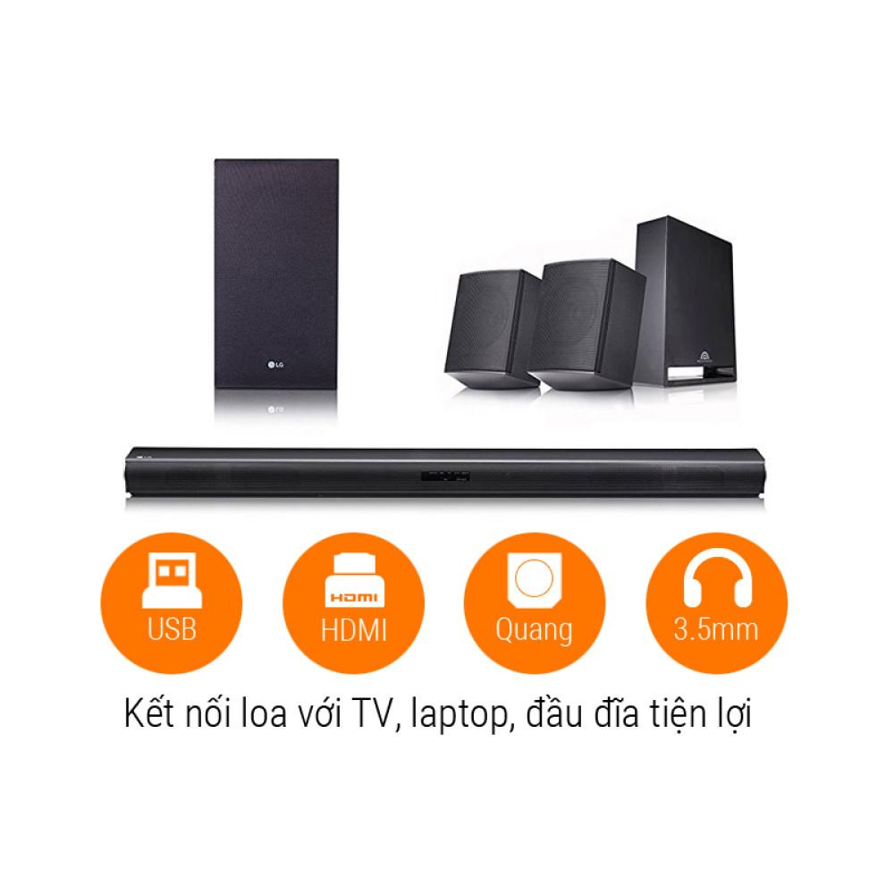 Bộ loa thanh LG Sound Bar 4 1 SJ4R 420W thế hệ mới 2018 - 2,845,000
