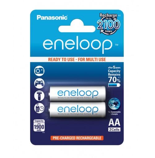Pin sạc AA Panasonic ENELOOP vỉ 2 viên 2000mAh