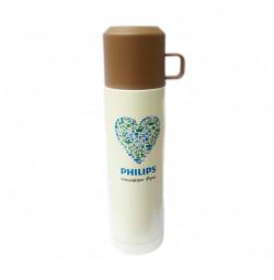 Bình giữ nhiệt 500ml Dong Hwa BKB-048-050 quà tặng Philips - Nâu
