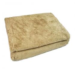 Chăn băng lông Sharp 127x152cm hàng Thái Lan - Vàng