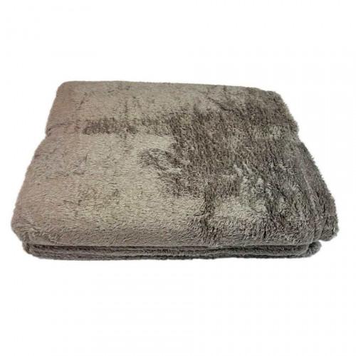 Chăn băng lông Midea 127x152cm - Xám