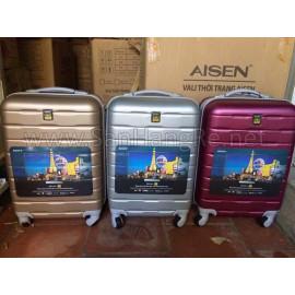 Vali kéo có khóa số thời trang AISEN Sony - Nâu Cafe sữa