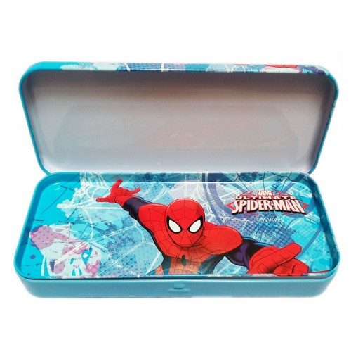 Hộp đựng bút 2 ngăn Frozen - Người Nhện