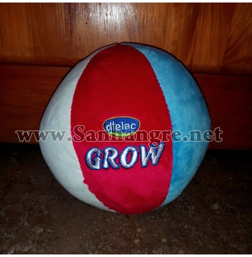 Trái banh nhung ruột nhồi bông Dielac Grow