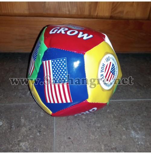 Trái bóng da Simili cờ Mỹ ruột nhồi bông