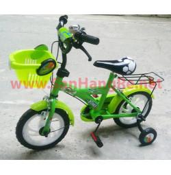 Xe đạp 12inch Enfa A+ màu xanh lá cho bé yêu