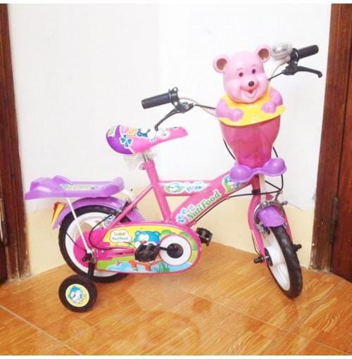 Xe đạp 12inch Nutifood màu hồng cho bé yêu