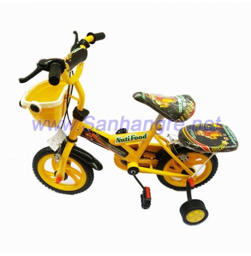 Xe đạp 12inch Nutifood màu vàng cho bé yêu