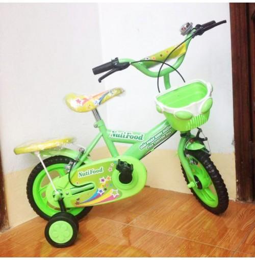 Xe đạp 12inch Nutifood màu xanh cho bé yêu