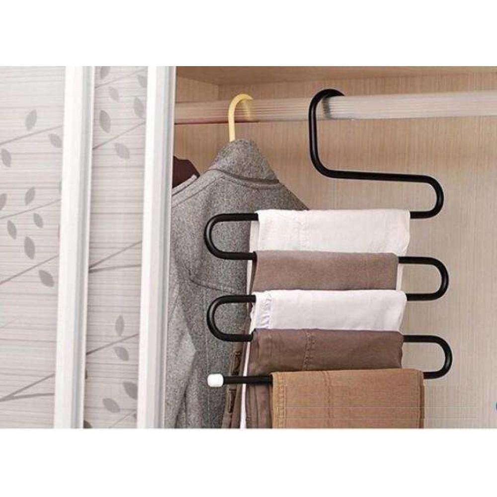 Móc treo quần và khăn 5 tầng