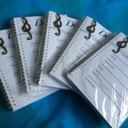 Set 5 cuốn sổ ghi chép qùa tặng từ Dove