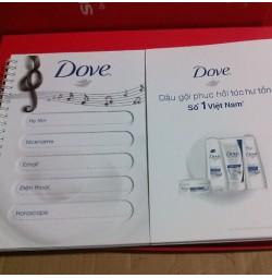 Sổ gáy xoắn Dove 160 trang