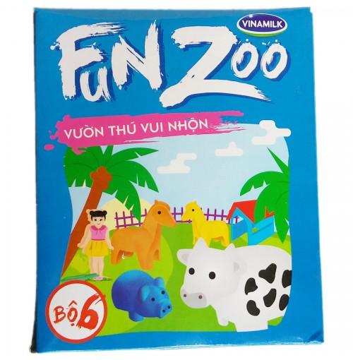 Bộ đồ chơi Vườn thú Nông trại FunZoo số 6 - Xanh biển