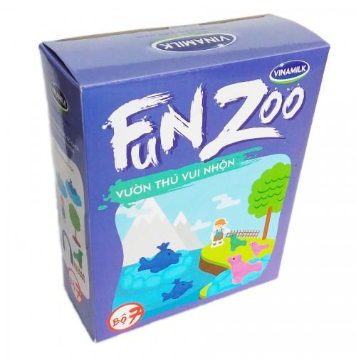 Bộ đồ chơi Vườn thú Đại Dương FunZoo số 7 - Tím xanh