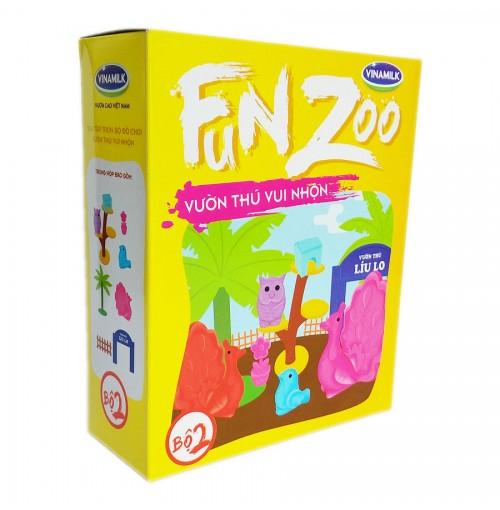 Bộ đồ chơi Vườn thú Líu Lo FunZoo số 2 - Vàng