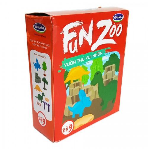 Bộ đồ chơi Vườn thú Tiền sử FunZoo số 9 - Đỏ cam