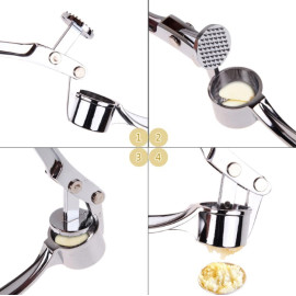 Dụng cụ ép tỏi Inox hàng Nhật Bản
