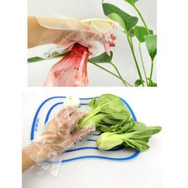 Hộp 50 chiếc găng tay nilon vệ sinh thực phẩm KM-594 hàng Nhật