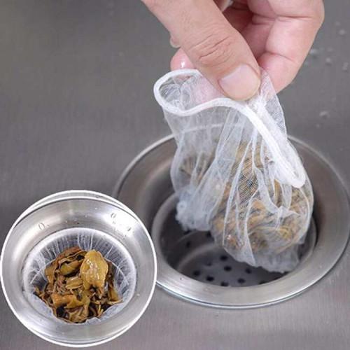 Bộ 10 túi lưới lọc rác bồn rửa KY-001 xuất Nhật