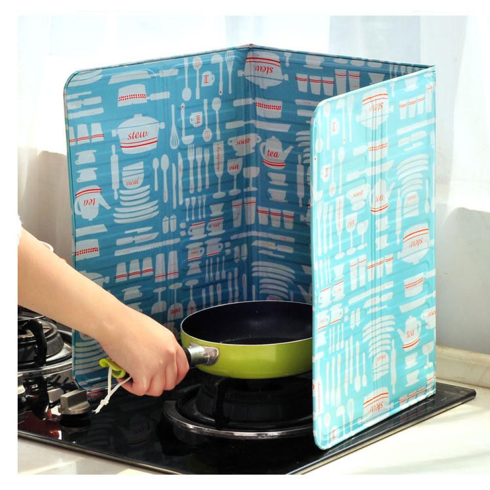 Tấm chắn dầu mỡ cách nhiệt dùng trong nhà bếp C3156 hàng xuất Nhật
