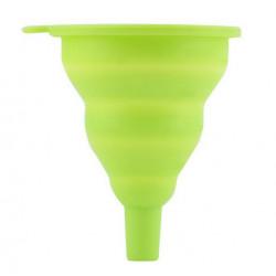 Phễu rót nước Silicon thu gọn TS.1504 hàng Nhật xanh lá