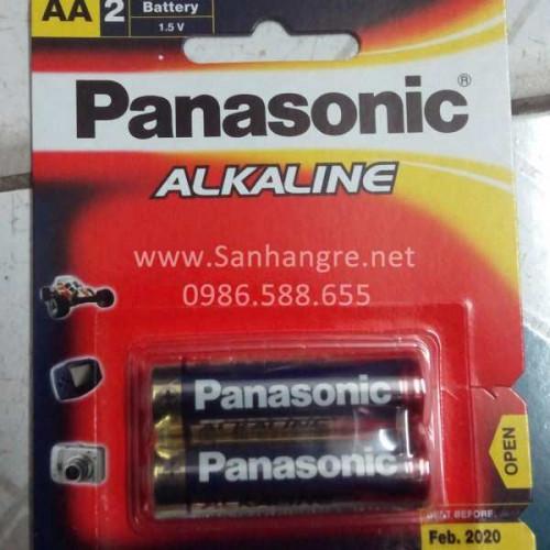 Pin AA Panasonic Alkaline (Hàng chính hãng)