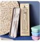 Bộ đũa thìa dĩa làm từ thân lúa mạch A533 xuất Hàn Quốc - Xanh biển
