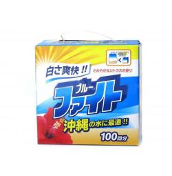 Bột giặt trắng sáng Blue Fighting 2kg hàng Nhật