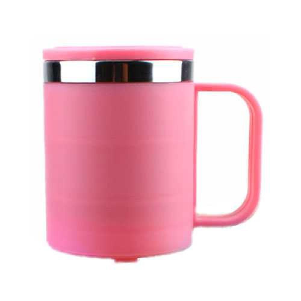 Ca giữ nhiệt 2 lớp lõi Inox 220ml hàng xuất Nhật màu hồng
