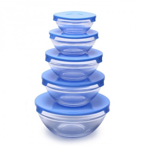 Bộ 5 tô thủy tinh Cooking Bowl
