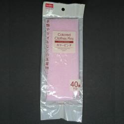 Khăn tắm tạo bọt 30x110cm Daiso Japan hàng Nhật màu hồng