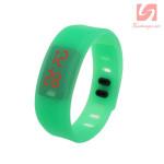 Đồng hồ LED vòng tay silicon thể thao CE101016 - Xanh dương