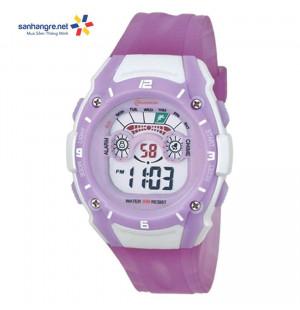 Đồng hồ điện tử đeo tay thể thao Mingrui 8535059 - Tím