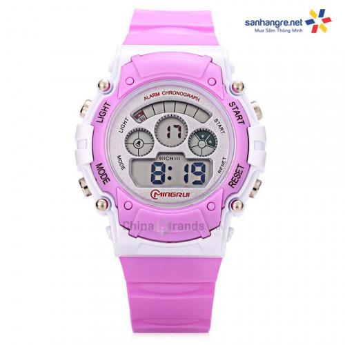 Đồng hồ điện tử đeo tay thể thao Mingrui 8552095 - Tím