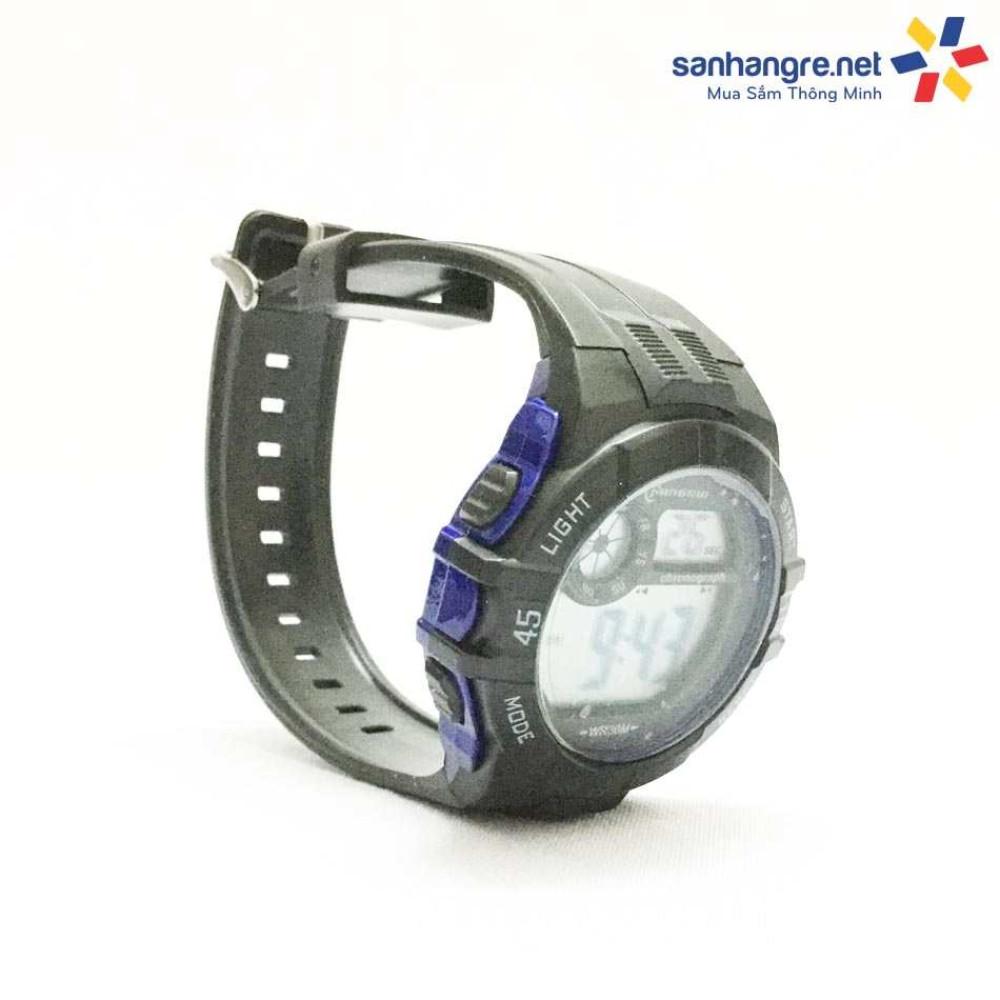 Đồng hồ điện tử đeo tay thể thao Mingrui 8583108- Xanh