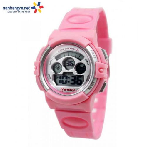 Đồng hồ điện tử đeo tay thể thao Mingrui 8022095 - Hồng