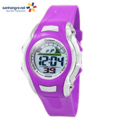 Đồng hồ điện tử đeo tay thể thao Mingrui 8530021- Tím